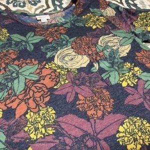 Floral Lularoe Small Carly